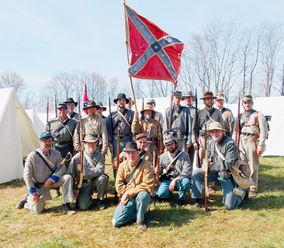 Fairfax Rifles at 150th Appomattox